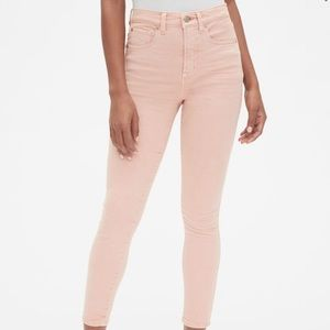 NWT Gap High Rise True Skinny Ankle Jeans in Color
